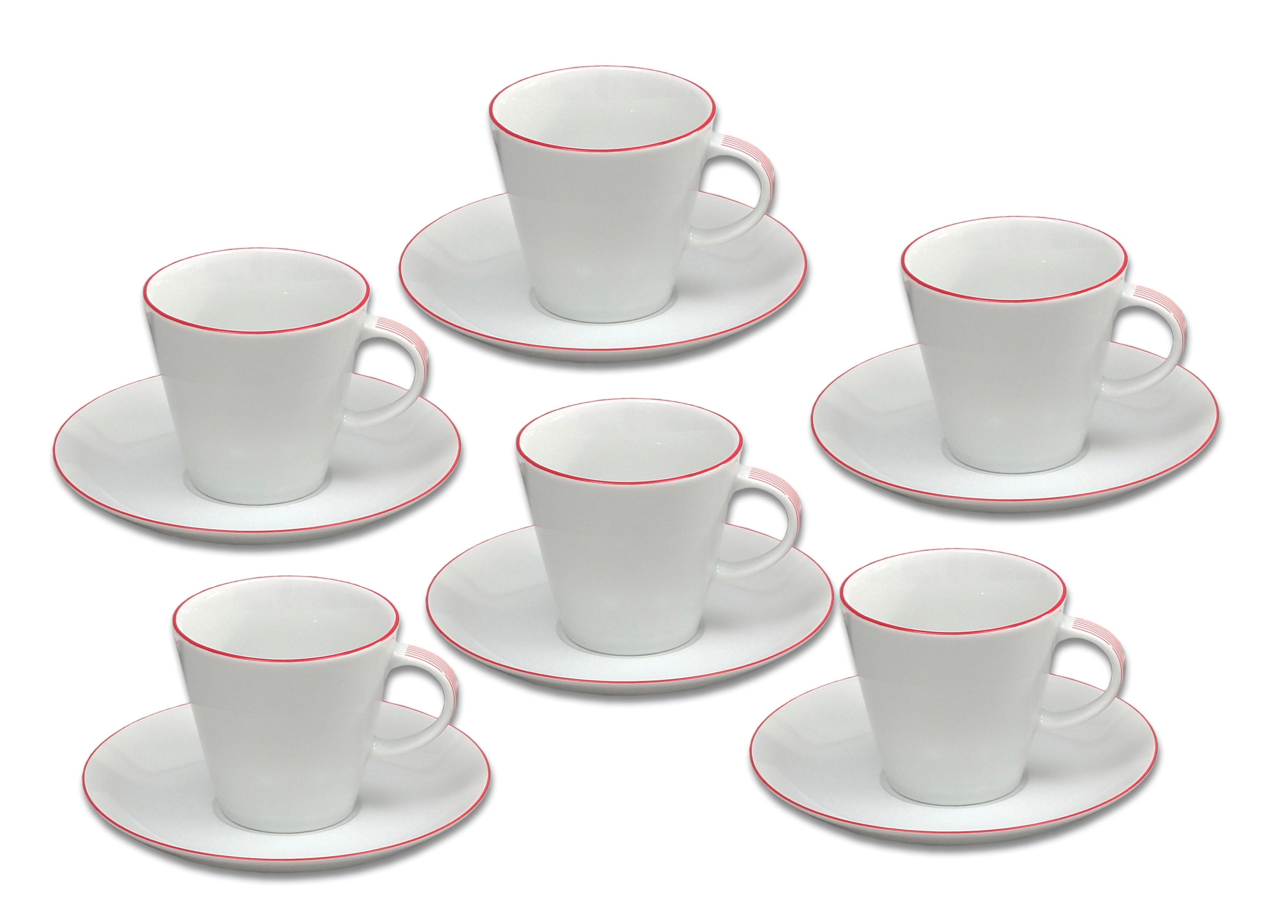 Šapo kávové (135) Tom 2996500 červená linka