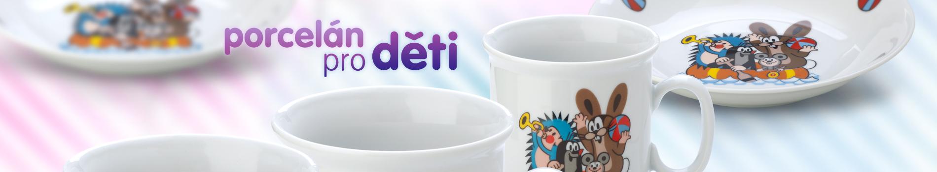 dětský porcelán